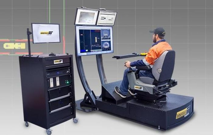 Simulators used to prepare miners for semi-autonomous loaders