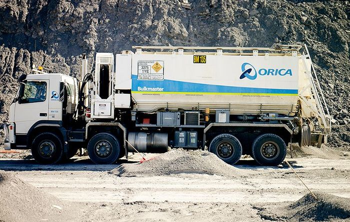 Orica in damage control
