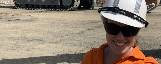 Peak Downs geotechnical engineer a role model for young women