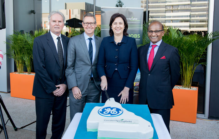 GE opens Qld headquarters