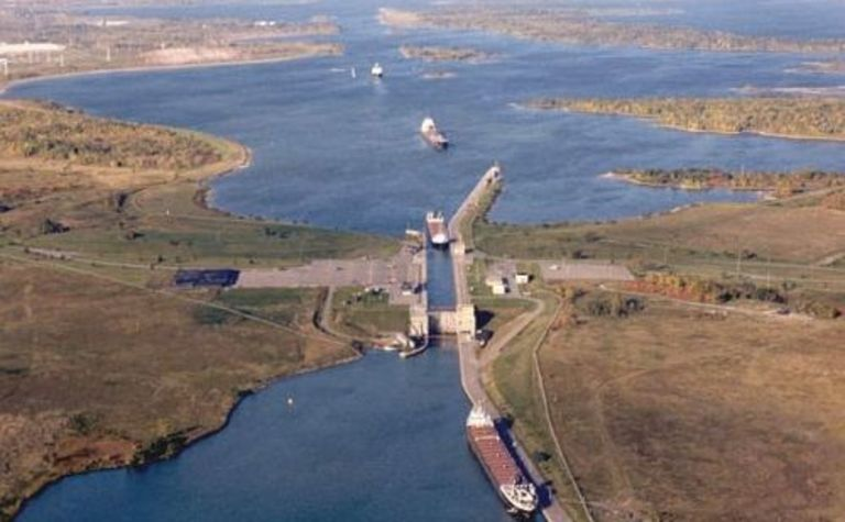 Coal a huge help to St Lawrence Seaway's year