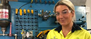 TAFE program ramping up women's mining skills