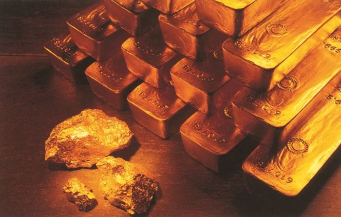 Gold production down in March