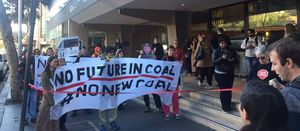 EFIC in the sights of Anti-Adani protestors
