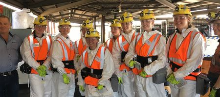 Anglo American tour aims to encourage mine female intake