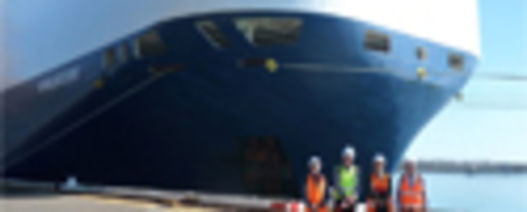 First roll-on roll-off vessel arrives at the port of Mackay, QLD