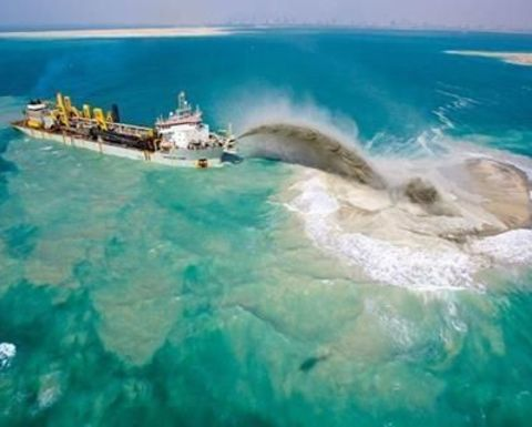 Port dredge no barrier for reef