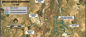 Australian Vanadium and Westgold strike water deal