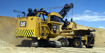 Caterpillar updates shovel drive