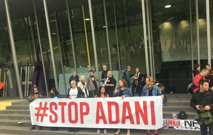 Adani protestors costing Qld $700k a day: Roche