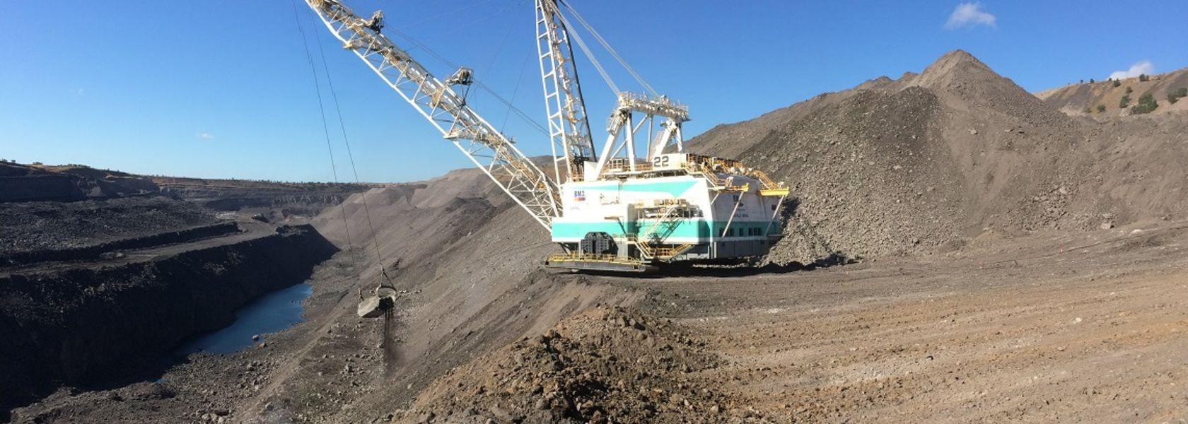 Saraji draglines achieve record weekly production